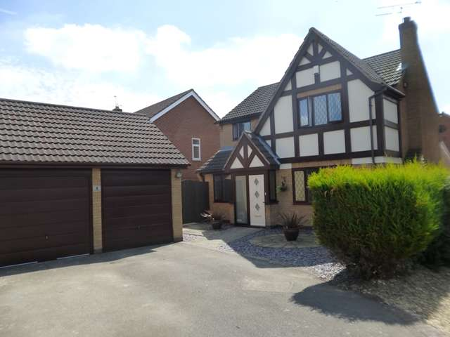4 Bedrooms Detached House for sale in Copse Close, Leicester Forest East, LE3