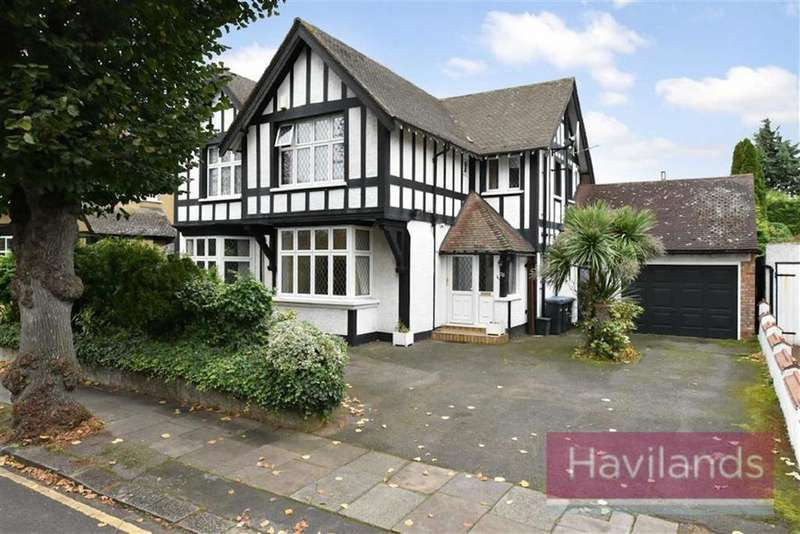 5 Bedrooms Detached House for sale in Abbey Road, Enfield