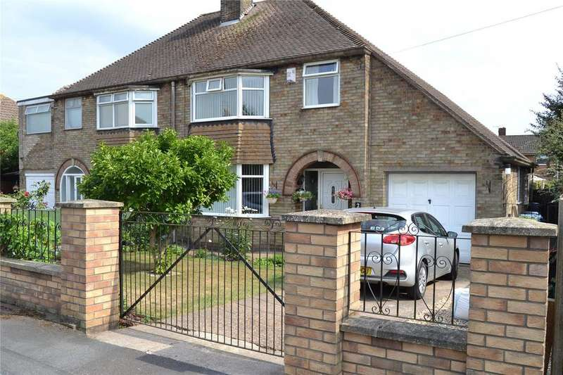 3 Bedrooms Semi Detached House for sale in Claythorne Drive, Gainsborough, DN21