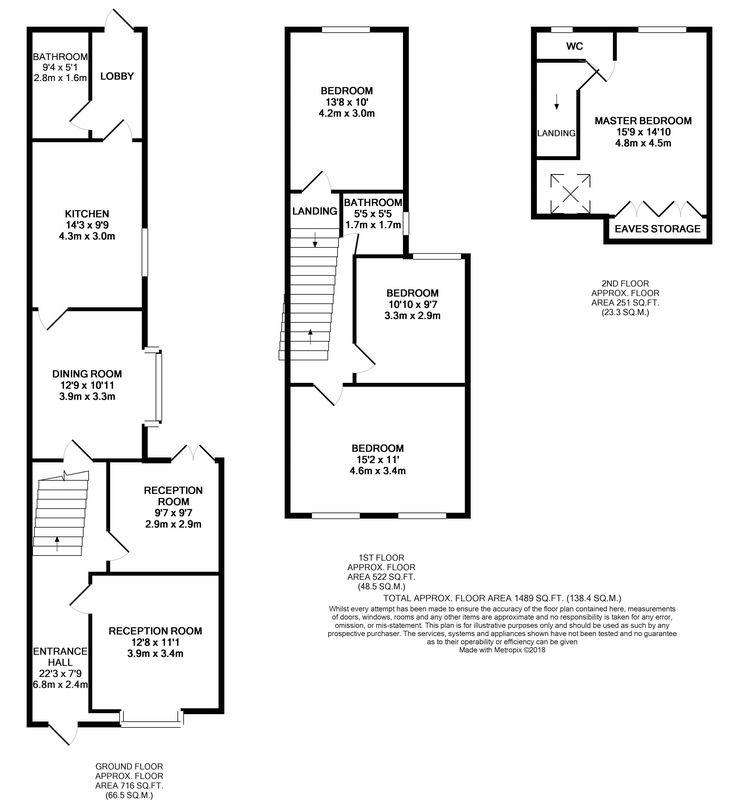 4 Bedrooms Terraced House for sale in Leslie Road, London, E11