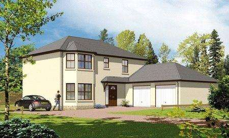 4 Bedrooms Detached House for sale in The Atholl, Plot 8, Moulin View, Pitlochry, Perth and Kinross, PH16
