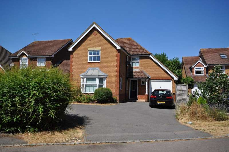 4 Bedrooms Detached House for sale in Anthian Close, Woodley, Reading RG5 4XA