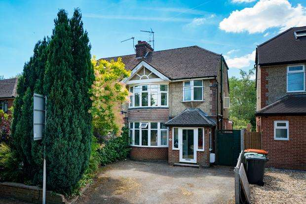 3 Bedrooms Semi Detached House for sale in Chaul End Road, Caddington, LU1