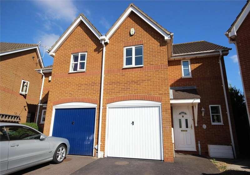 3 Bedrooms Semi Detached House for sale in Ellan Hay Road, Bradley Stoke, Bristol, BS32