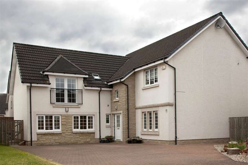 5 Bedrooms Detached House for sale in Drover Round, Larbert