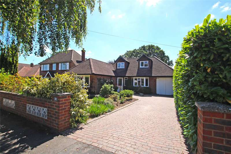 4 Bedrooms Detached House for sale in Orchard Avenue, Woodham, Surrey, KT15