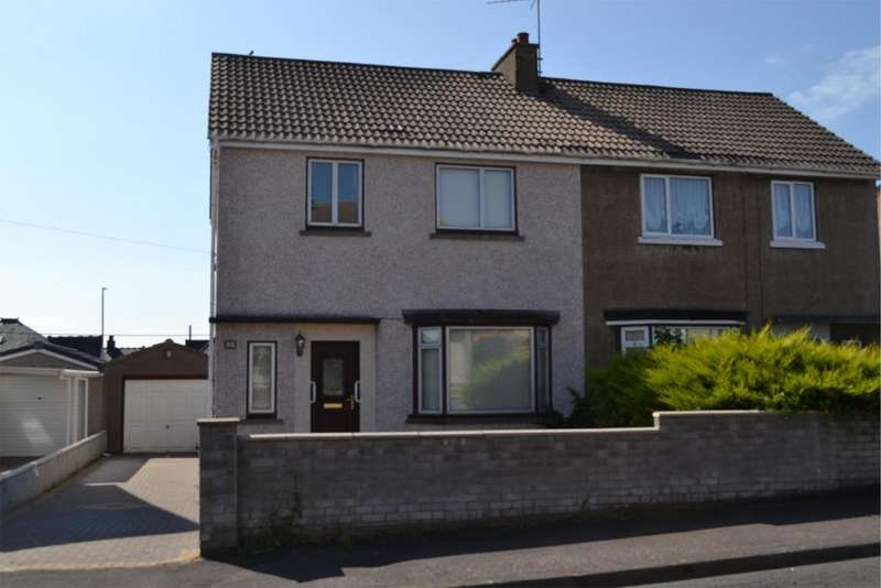 3 Bedrooms Semi Detached House for sale in 90 Sinclair Street, STEVENSTON, KA20 4AL