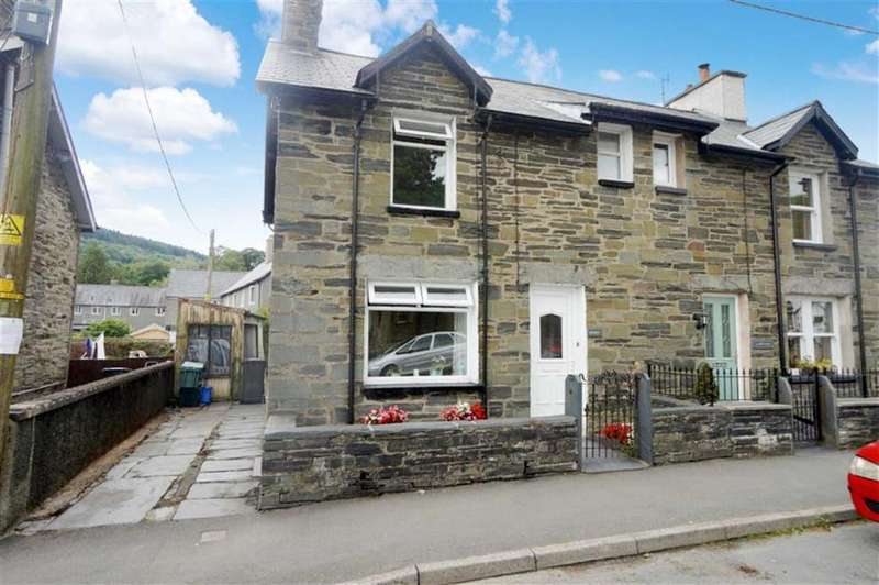 3 Bedrooms End Of Terrace House for sale in Church Street, Dolwyddelan, Betws Y Coed
