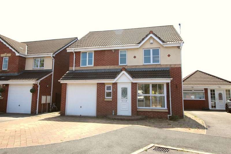4 Bedrooms Detached House for sale in Harvest Way, Hindley Green, Wigan, WN2