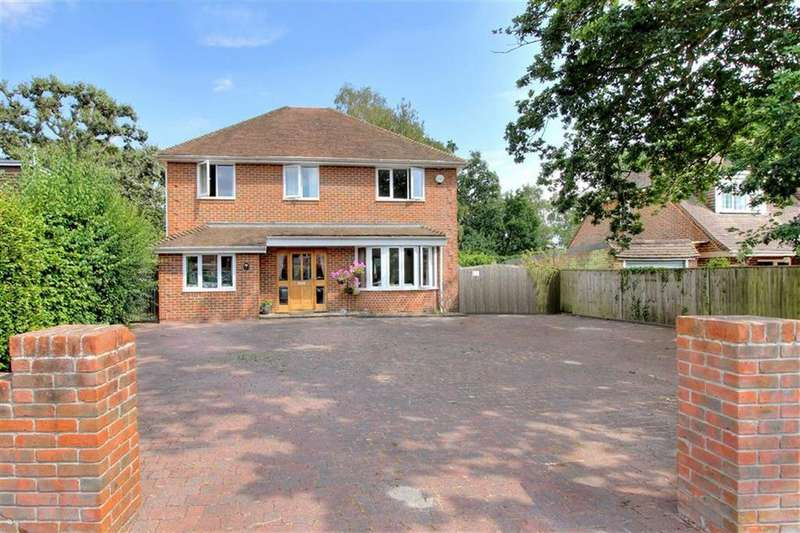 5 Bedrooms Detached House for sale in Sherwood Road, Hiltingbury, Chandlers Ford, Hampshire