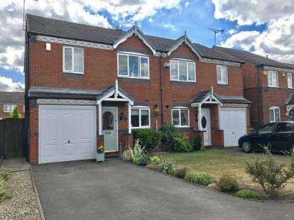 4 Bedrooms Semi Detached House for sale in Conwy Close, Walsall, West Midlands