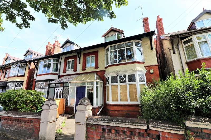 2 Bedrooms Ground Flat for sale in Mount Pleasant Road, Wallasey, CH45 5HS