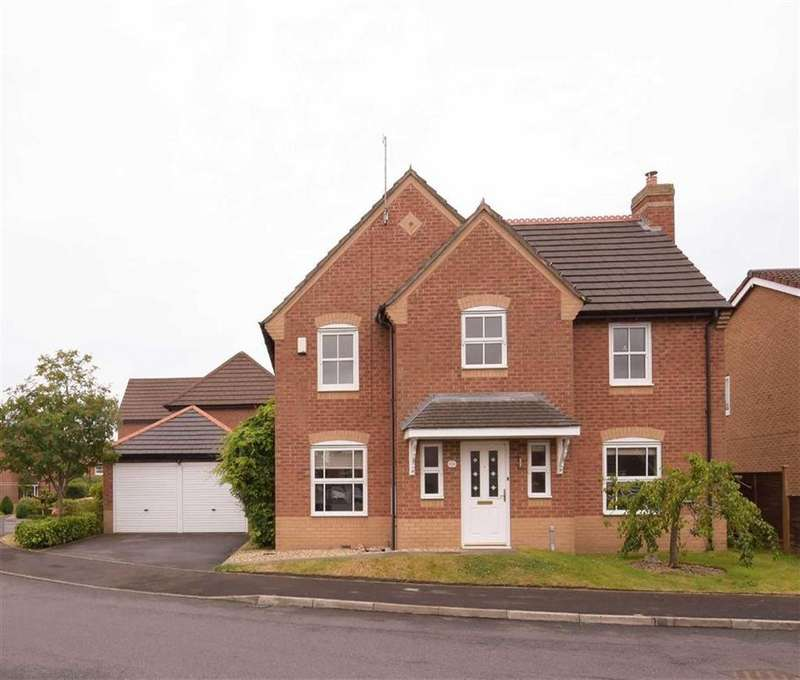 4 Bedrooms Detached House for sale in Milestone Meadow, Euxton, PR7