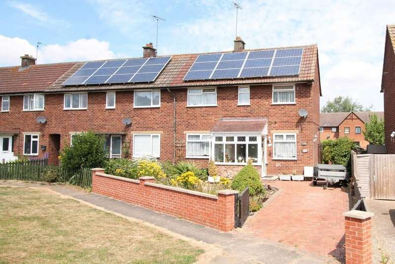 2 Bedrooms Semi Detached House for sale in Stuart Road, Market Harborough