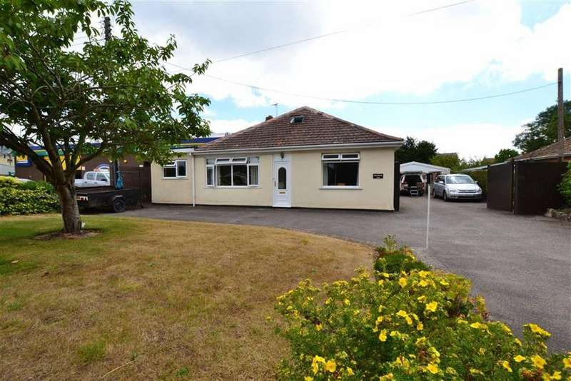 4 Bedrooms Bungalow for sale in Bridgwater Road, Bathpool, Taunton, Somerset, TA2