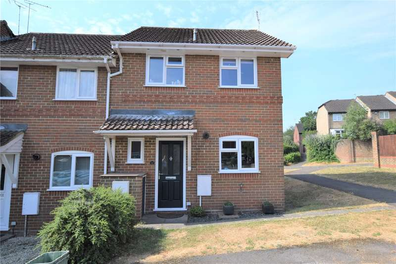 3 Bedrooms End Of Terrace House for sale in Dauntless Road, Burghfield Common, Reading, RG7