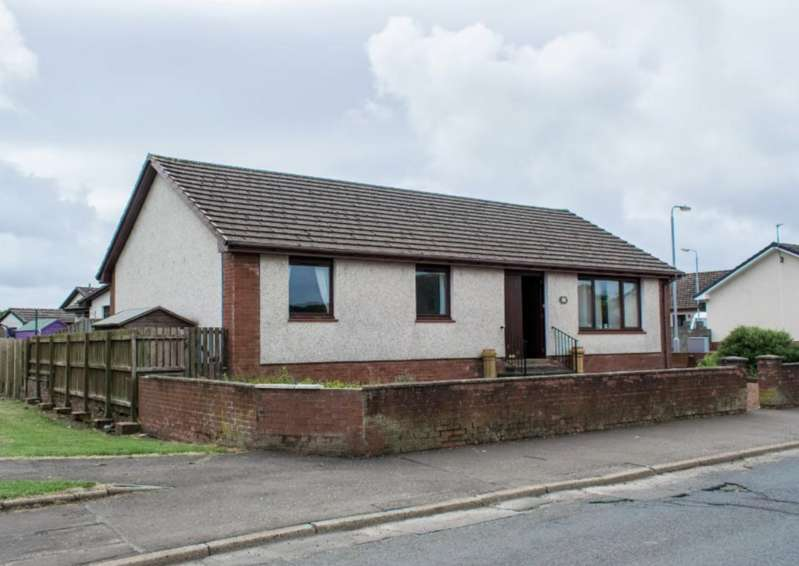 3 Bedrooms Detached Bungalow for sale in Cairn Court, Cumnock KA18