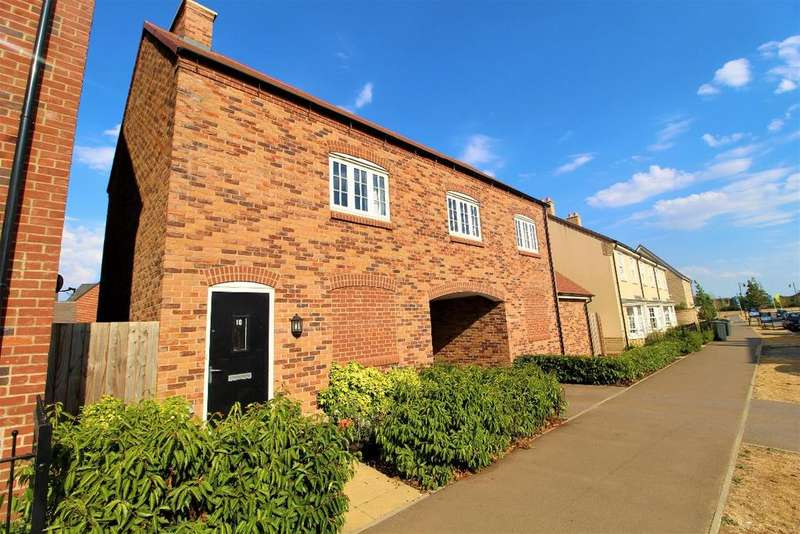 2 Bedrooms Detached House for sale in King Alfred Way, Great Denham, Mk40