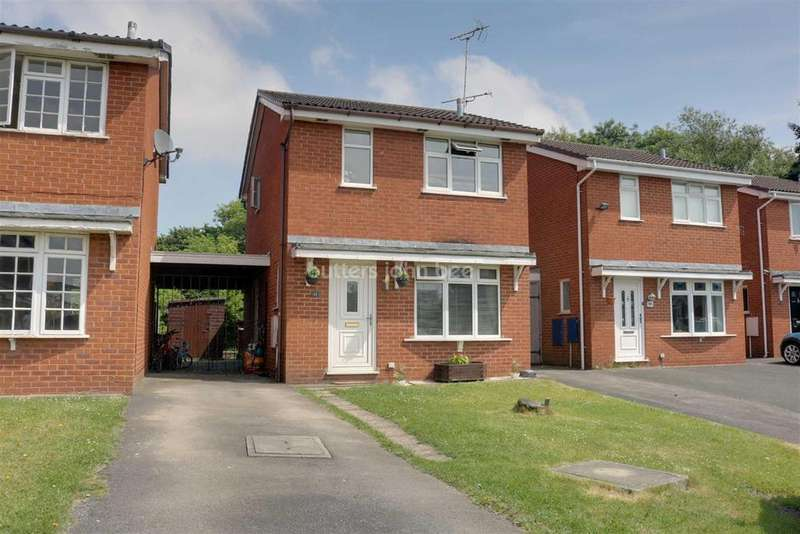 3 Bedrooms Detached House for sale in Padstow Close, Crewe