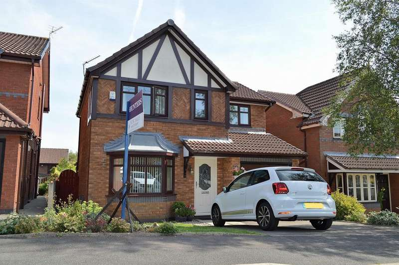 3 Bedrooms Detached House for sale in Givvons Fold, Watersheddings, Oldham, OL4 2SH