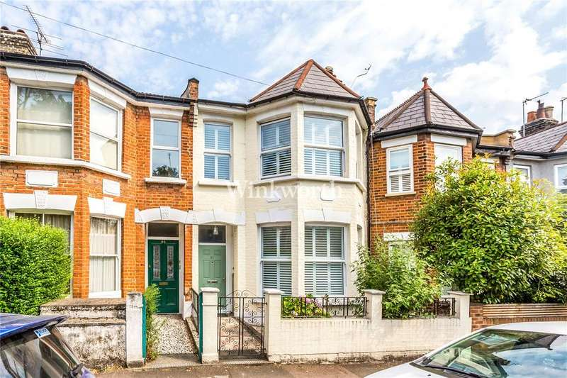 3 Bedrooms Terraced House for sale in Umfreville Road, London, N4