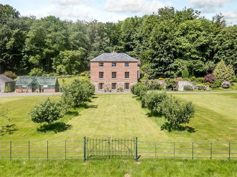4 Bedrooms Detached House for sale in Huntington, Near Kington, Herefordshire