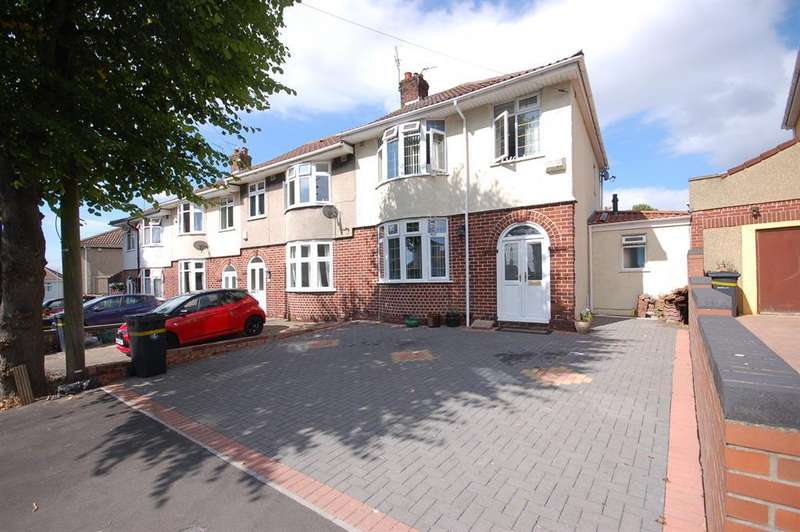 3 Bedrooms Semi Detached House for sale in Gordon Avenue, Whitehall, Bristol, BS5 7DT