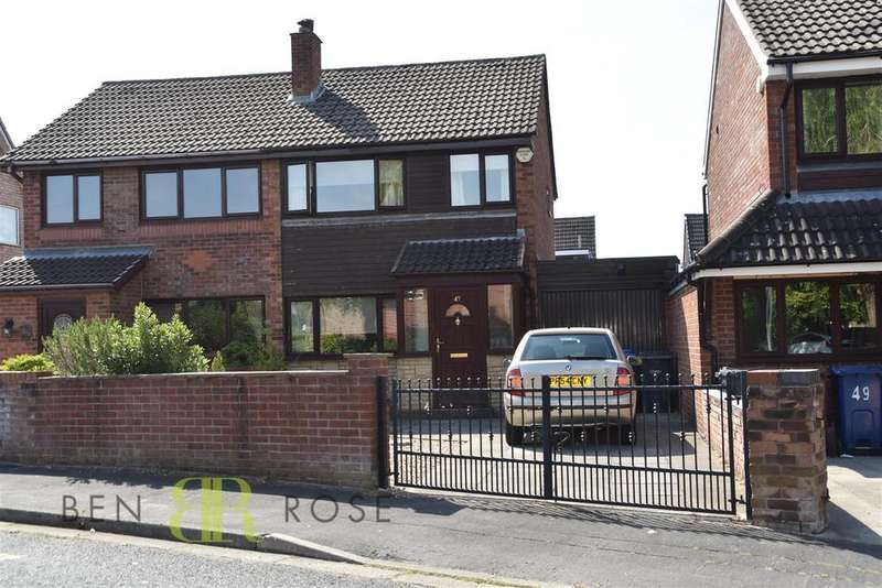 3 Bedrooms Semi Detached House for sale in Talbot Drive, Euxton, Chorley