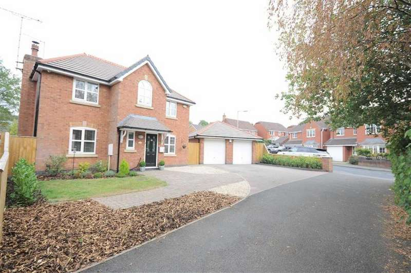 4 Bedrooms Detached House for sale in Highland Drive, Lightwood