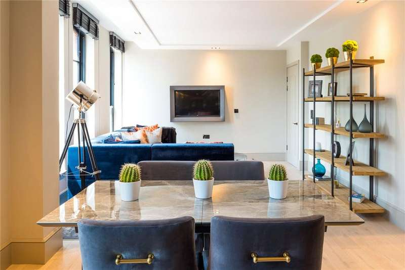 2 Bedrooms Flat for sale in The Set, Cabul Road, Battersea, London, SW11
