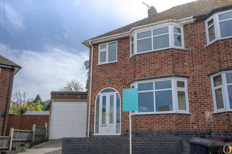 3 Bedrooms Semi Detached House for sale in Ditchling Avenue, Leicester