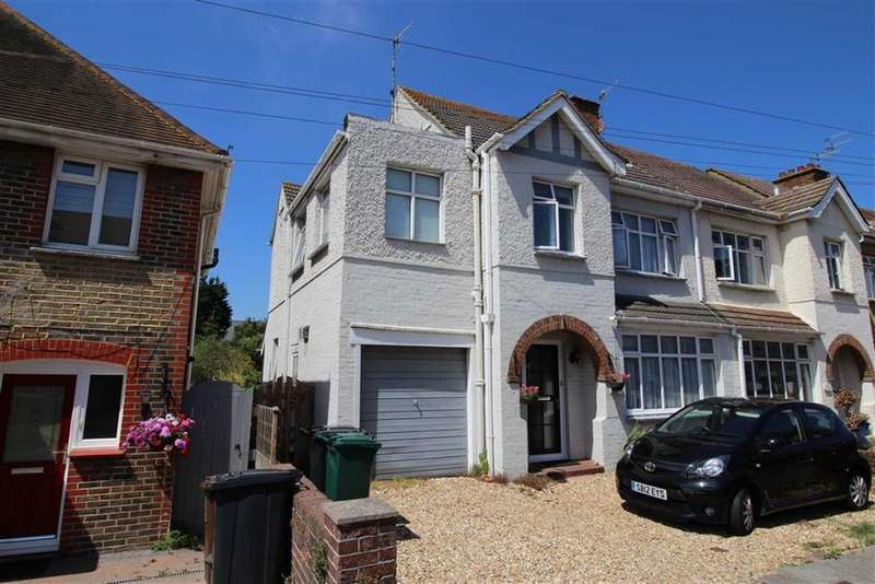 4 Bedrooms Semi Detached House for sale in Links Road, Portslade, East Sussex