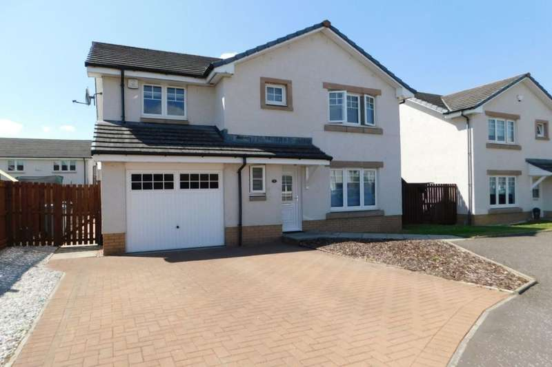 4 Bedrooms Detached House for sale in Stein Place, Newmains, Wishaw, ML2