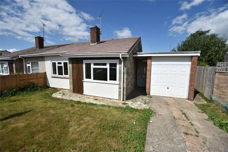 2 Bedrooms Semi Detached Bungalow for sale in Ashton Crescent, Nailsea, Bristol, North Somerset