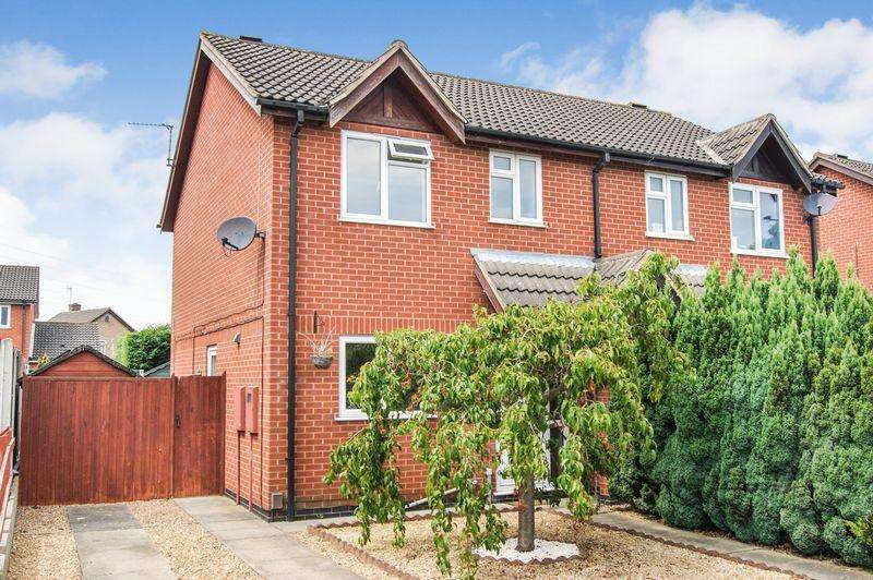 3 Bedrooms Semi Detached House for sale in Fulford Close, Grantham