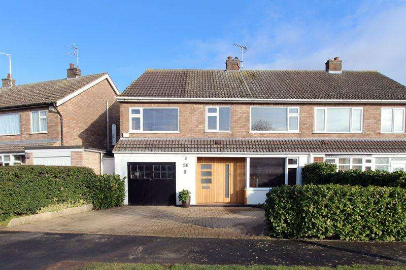 4 Bedrooms Semi Detached House for sale in 4 Bedroom House with Garden, Garage Parking - Lonsdale Road, Stamford