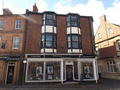 2 Bedrooms Flat for sale in St. Marys Road, Market Harborough, Leicestershire, .