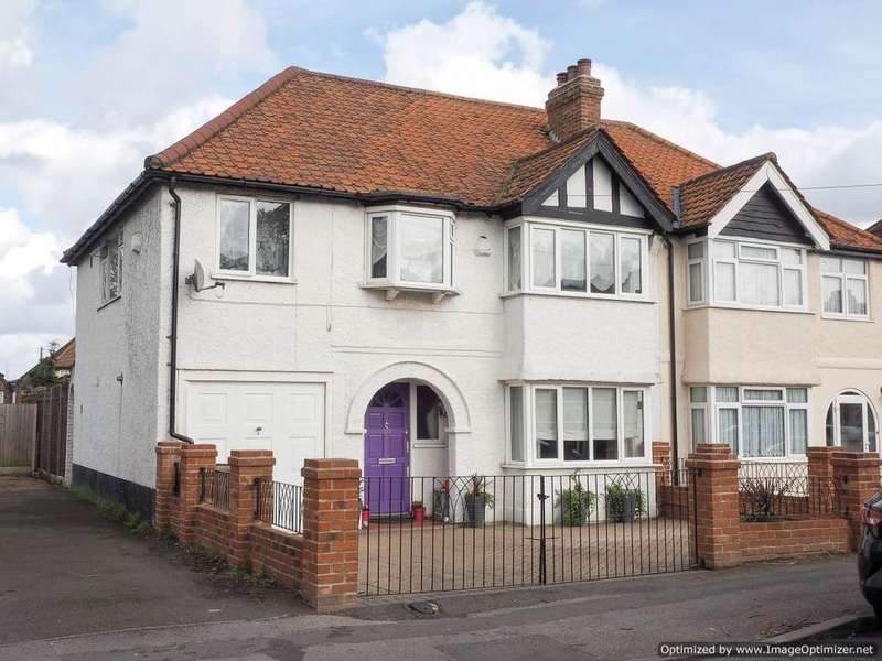 4 Bedrooms End Of Terrace House for sale in Ash Road, Sutton