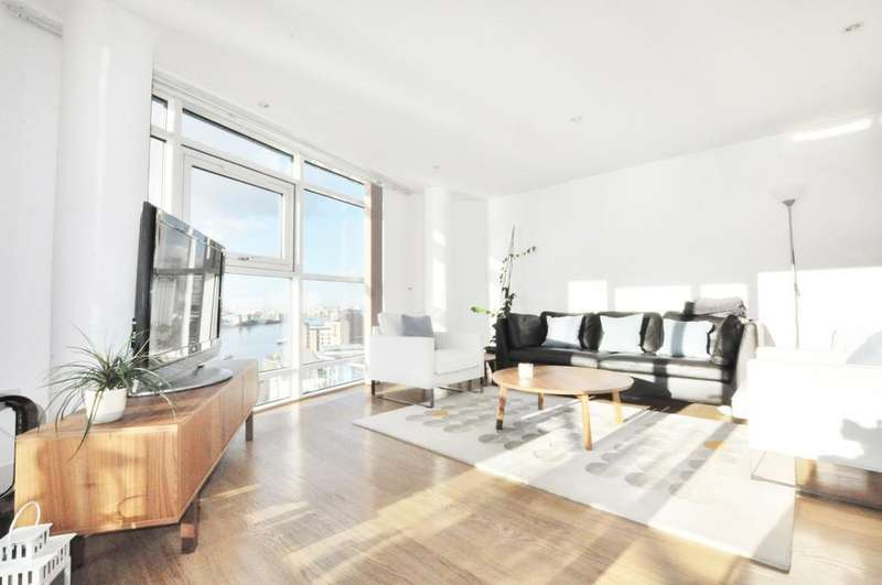2 Bedrooms Penthouse Flat for sale in Crews Street, London