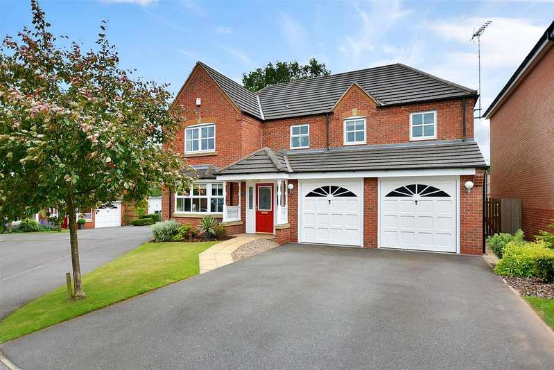 5 Bedrooms Detached House for sale in Mayflower Court, Mansfield
