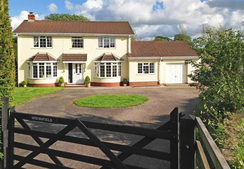 5 Bedrooms Detached House for sale in Filleigh, Barnstaple