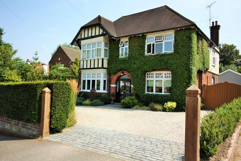 4 Bedrooms Detached House for sale in Worrin Road, Shenfield, Brentwood, CM15