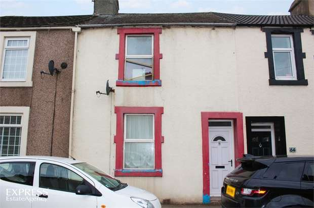 2 Bedrooms Terraced House for sale in Dalzell Street, Moor Row, Cumbria