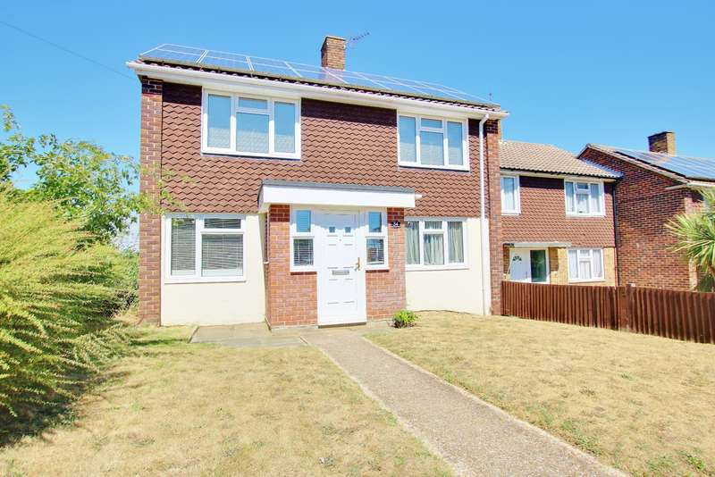 3 Bedrooms End Of Terrace House for sale in Rowlands Walk, Townhill Park