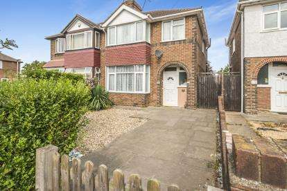 3 Bedrooms Semi Detached House for sale in London Road, Bedford, Bedfordshire, .
