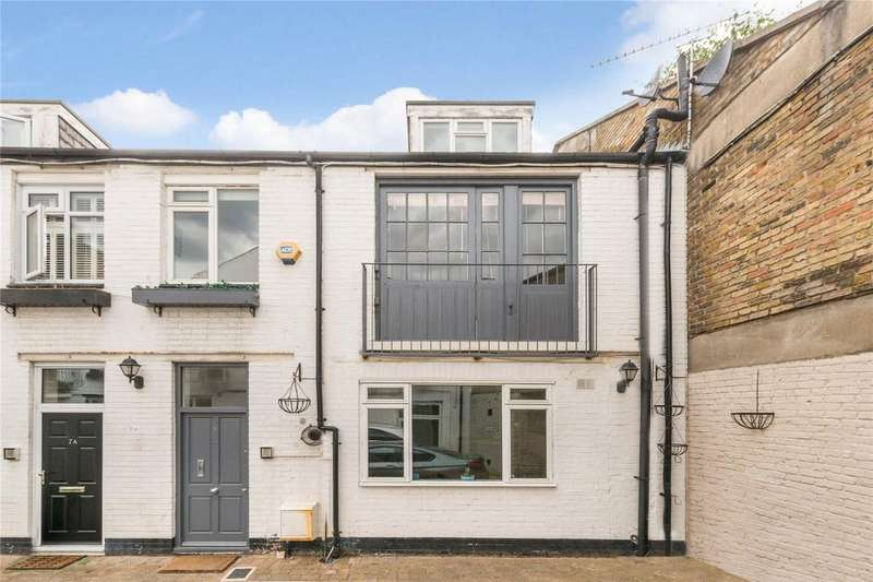 3 Bedrooms Mews House for sale in Blackstock Mews, Finsbury Park, London