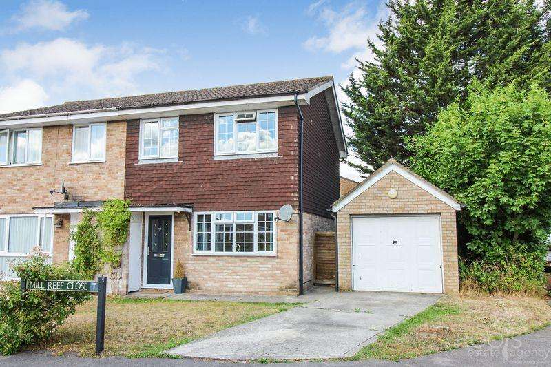 3 Bedrooms End Of Terrace House for sale in Mill Reef Close, Thatcham