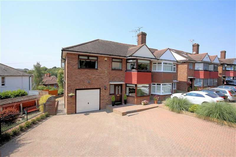 5 Bedrooms Semi Detached House for sale in Hillcrest Way, Epping