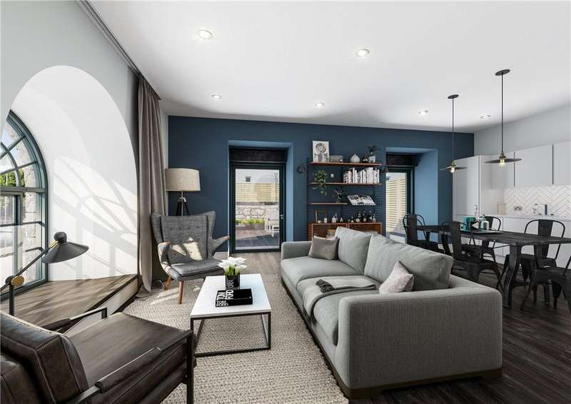 2 Bedrooms Flat for sale in Apartment B6 Oculus House, Brandon Yard, Lime Kiln Road, Bristol, BS1