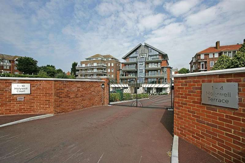 2 Bedrooms Penthouse Flat for sale in Holywell Court, King Edwards Parade, Eastbourne, BN20